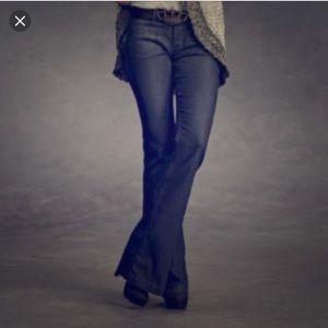 CAbi Farrah dark wash flare jeans